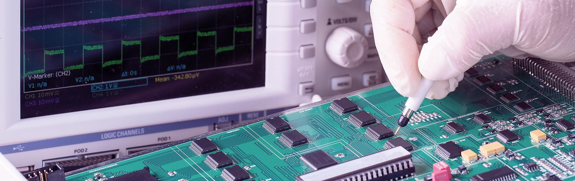 Test di sicurezza elettrica ed elettronica
